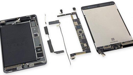 iPad mini 5получил двойку заремонтопригодность