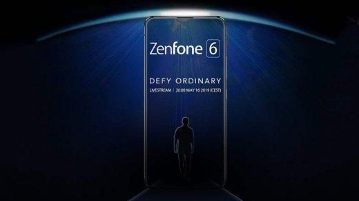 ASUS Zenfone 6впервые показан наофициальном изображении