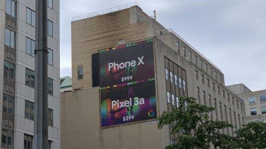 Google высмеивает iPhone заужасную камеру инеадекватную цену