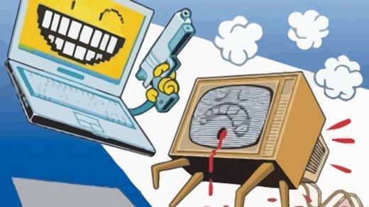 Интернет стал популярнее телевизора уроссиян