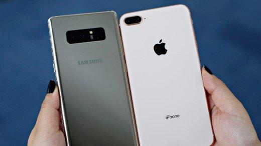 Смартфоны Apple, Huawei иSamsung просели вцене