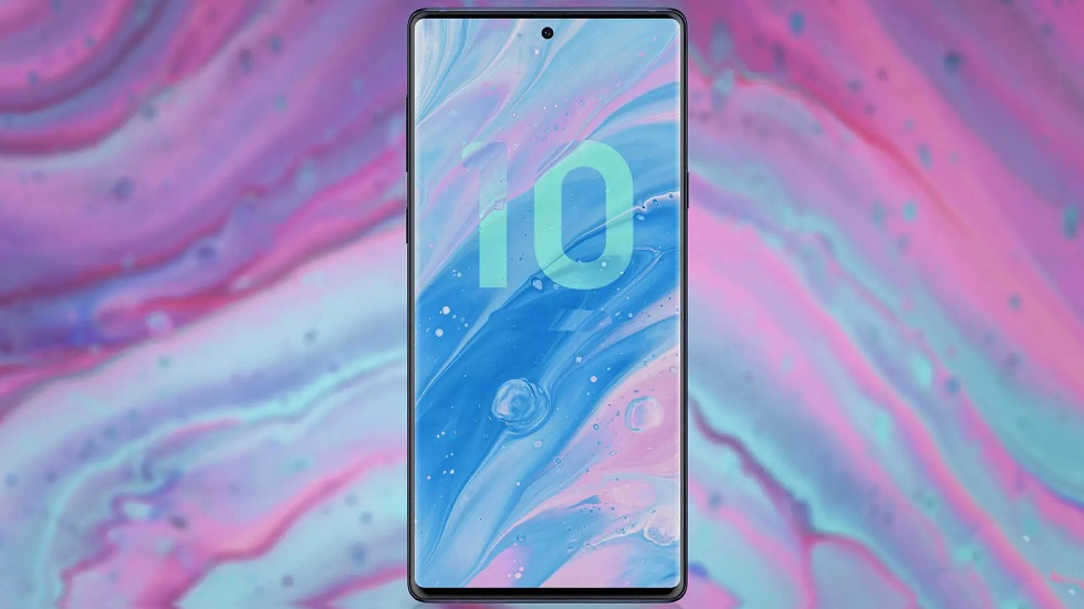 Samsung Galaxy Note10 показан на качественных рендерах