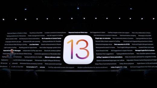 iOS 13презентована: что нового, полный список нововведений, как установить