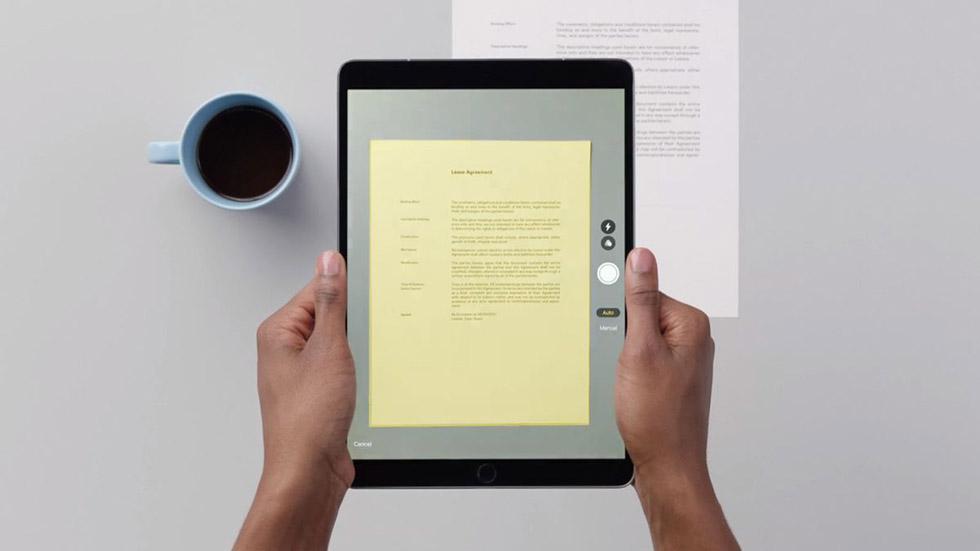 iOS 13выводит сканирование документов нановый уровень
