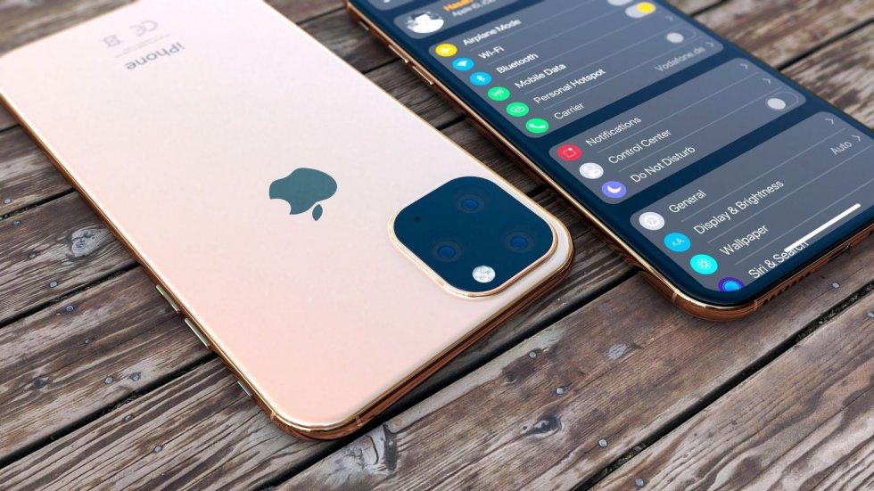 Как будет выглядеть iPhone 12без рамок исчетырьмя камерами