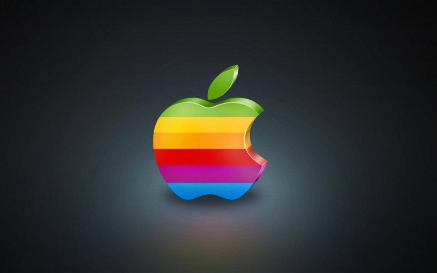 Цветной логотип Apple