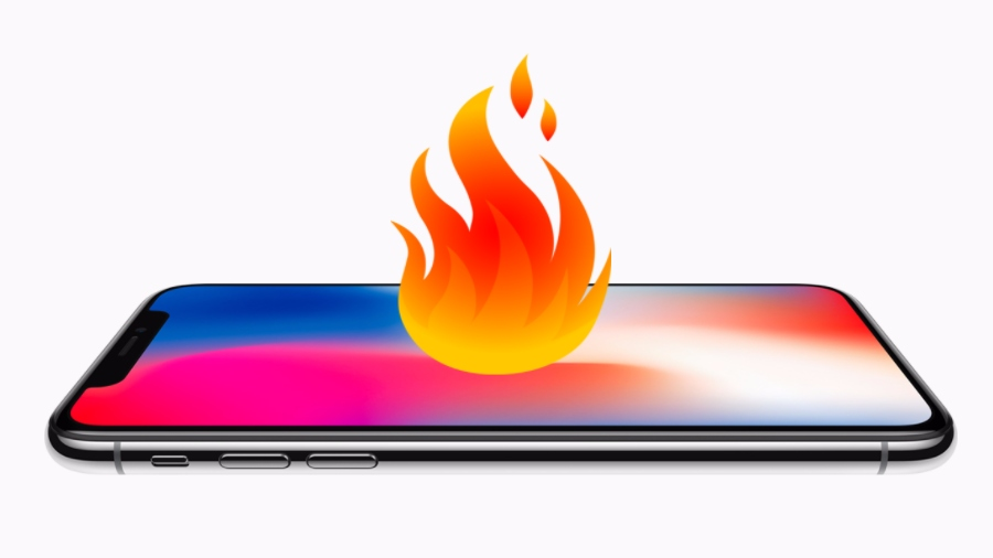 Fire iPhone