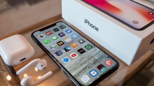 Новый iPhone из коробки