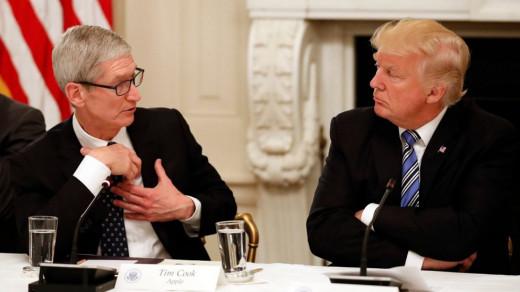 Трамп и Кук