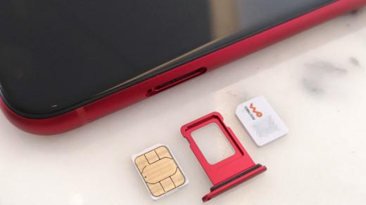 Две SIM-карты в iPhone