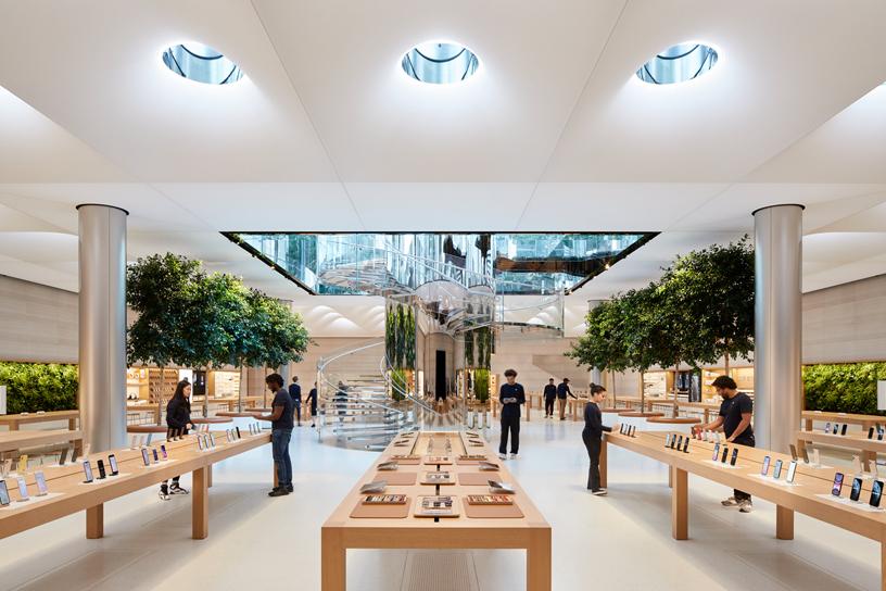 Интерьер Apple Fifth Avenue