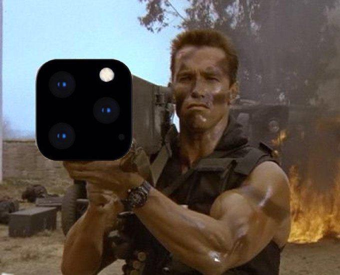 Базука Терминатора, газовая плитка итрехглазый Тим Кук. Лучшие мемы про iPhone 11Pro