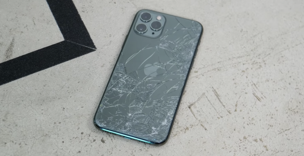 Краш-тест iPhone 11 Pro