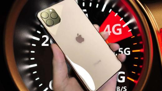 4G на iPhone 11 Pro