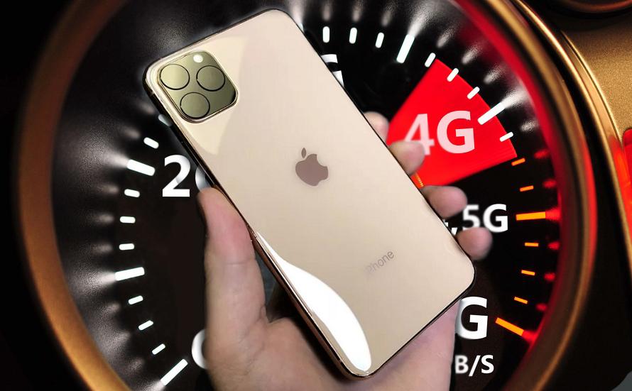 4G LTE на iPhone 11 быстрее на 13% в сравнении с iPhone XS