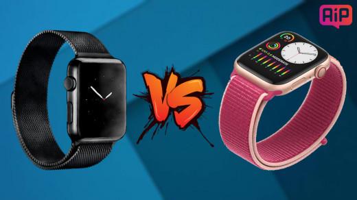 Сравнение Apple Watch Series 5 и Series 4. Чем отличаются