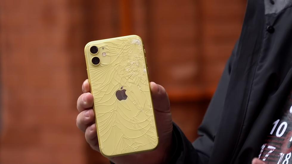 «Вилса» оценил прочность iPhone 11