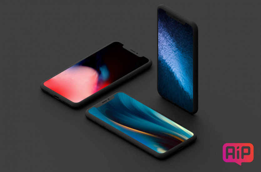 Обои для iPhone в абстрактном стиле