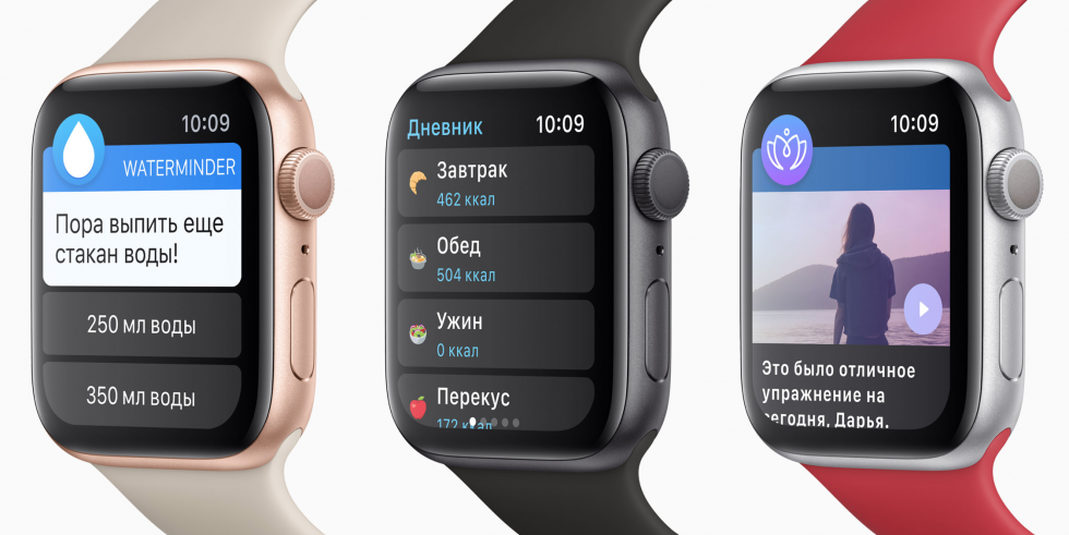 Apple Watch Series 5 дисплей
