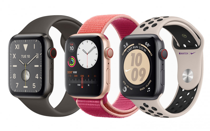 новые Apple Watch Series 5