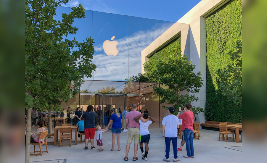 Apple открывает новые магазины с уникальным дизайном