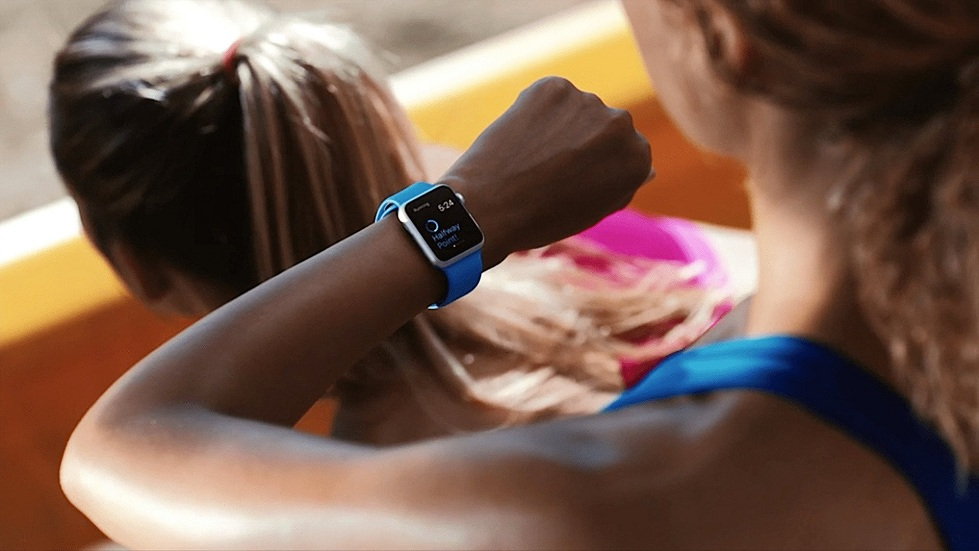 Тренировка с Apple Watch