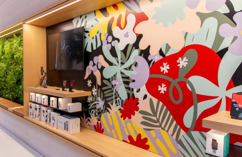 Интерьер Apple Store