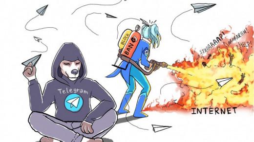 Блокировка Телеграм в России