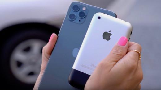 iPhone 2G iPhone 11 Pro Max