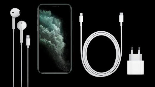 Комплект поставки iPhone 11 Pro