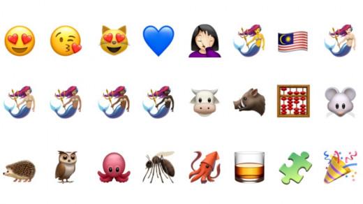 Новые эмодзи iOS 13.1