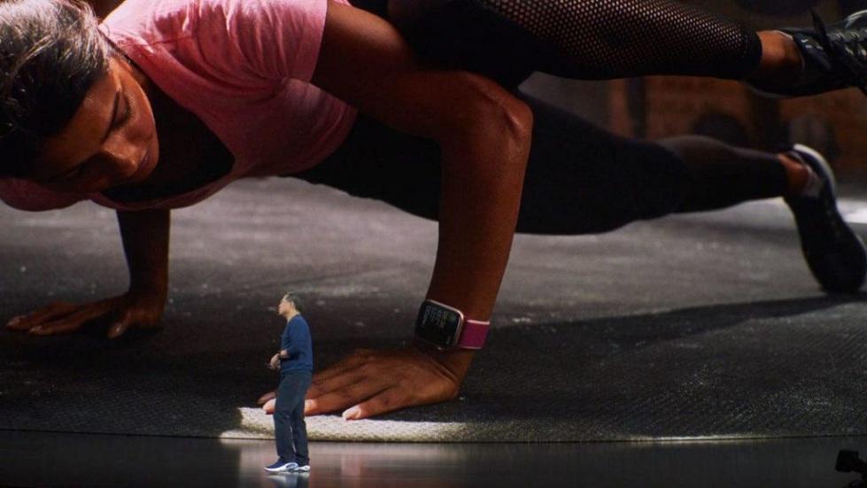 Обнаружение падения Apple Watch