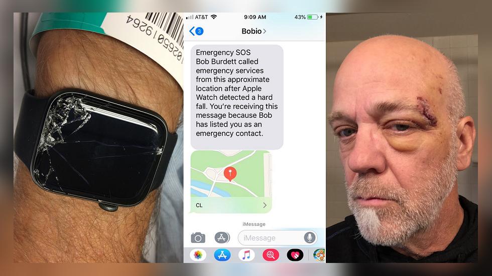 Apple Watch помогли найти в горах упавшего велосипедиста