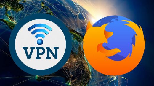 VPN в браузере Firefox