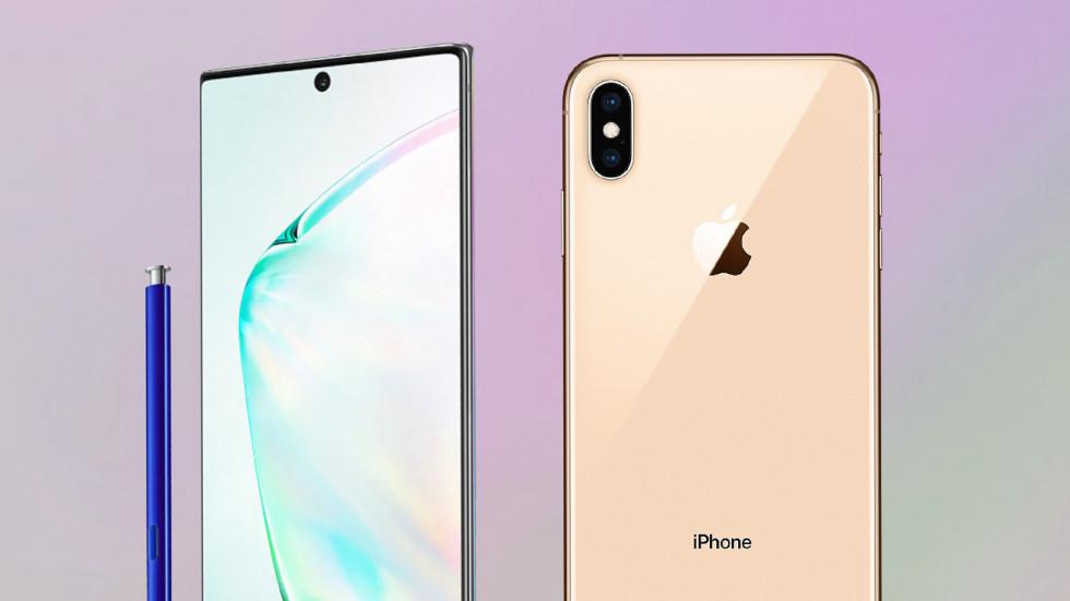 Кто быстрее: iPhone XS Max против Galaxy Note 10+