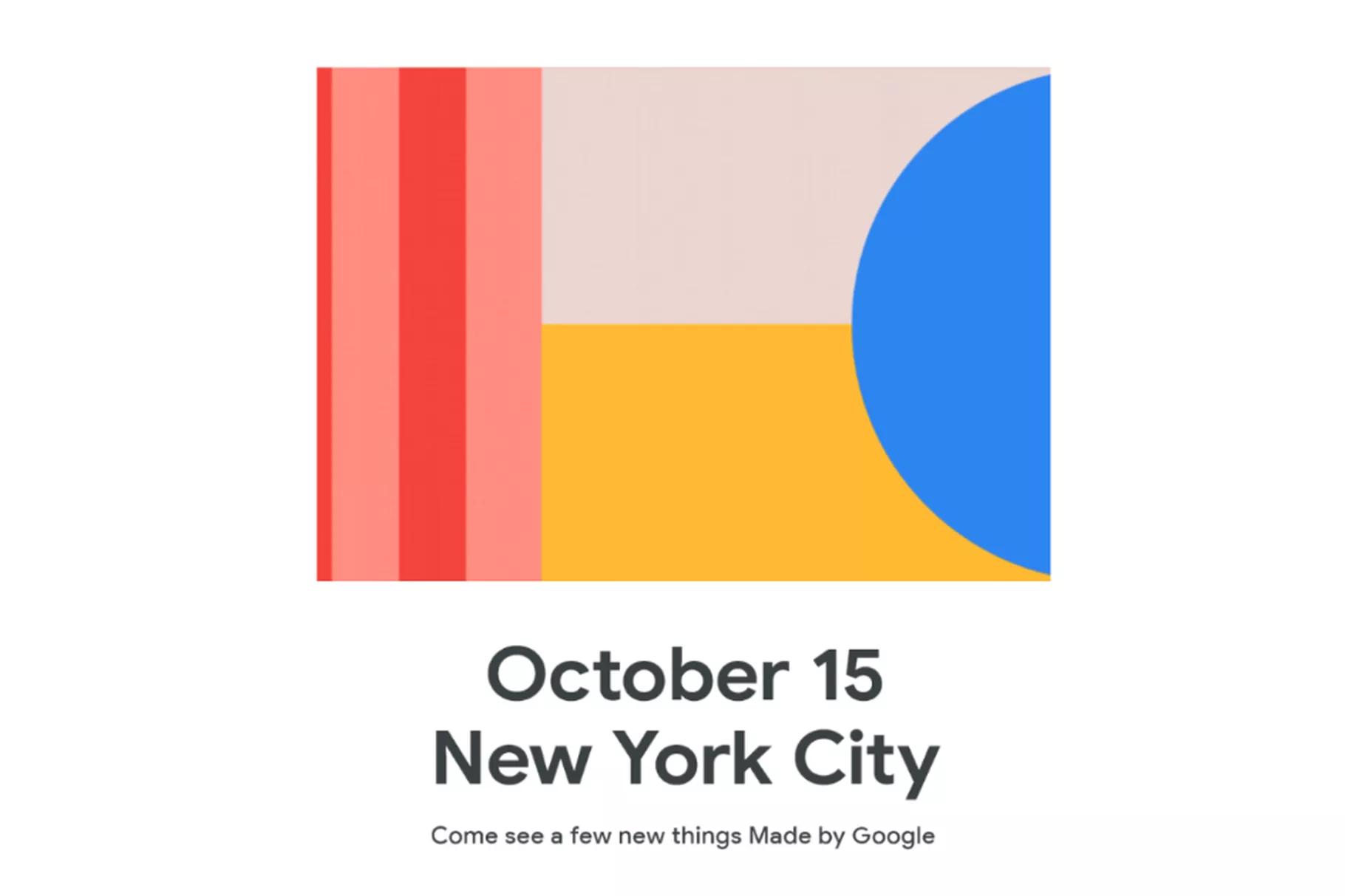 Официально: презентация Pixel 4 состоится 15 октября