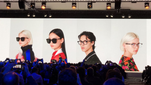 Очки Huawei на презентации