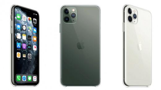 iPhone 11 в прозрачном чехле