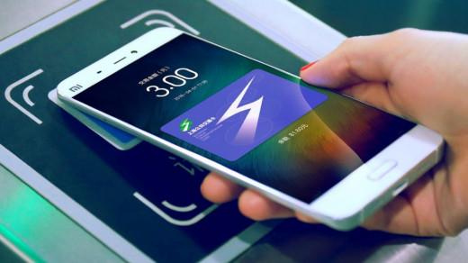Бесконтактные платежи NFC