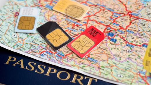 SIM карты и паспорт