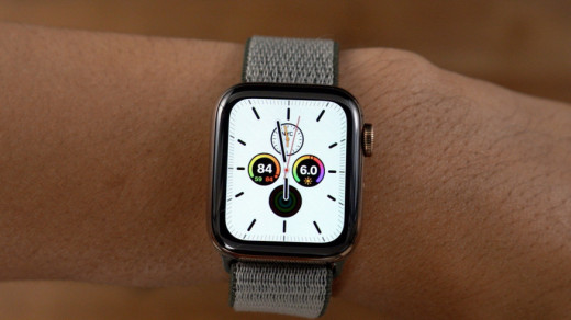 Циферблат Meridian в Apple Watch Series 5