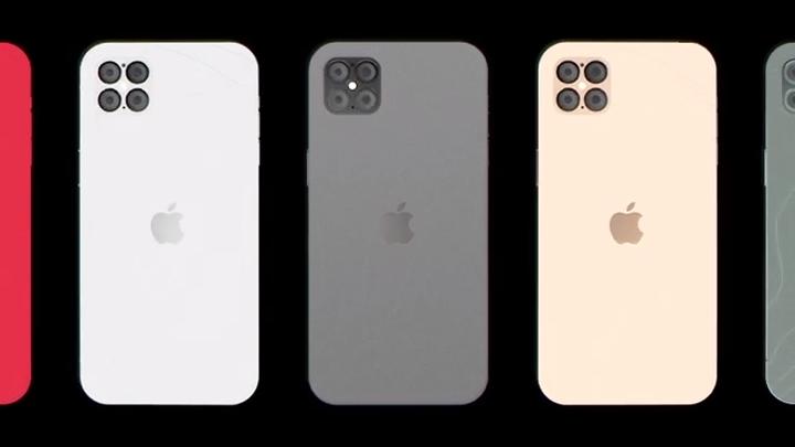Как будет выглядеть iPhone 12в стиле iPhone 4с четырьмя камерами (концепт)