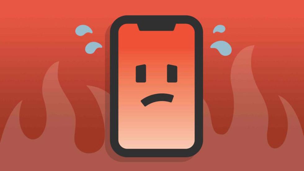 Как быстро охладить айфон, когда онсильно нагрелся