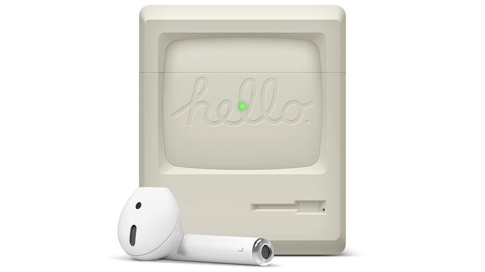 Красота дня: чехол для AirPods встиле первого Macintosh