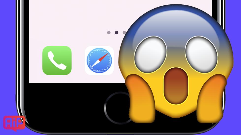 «Магия»! Новые градиентные обои для iPhone скрывают нижнюю панель