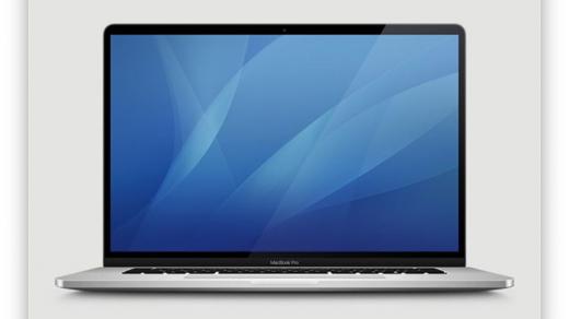 Появилось изображение 16-дюймового MacBook Pro. Рамки едва уменьшились