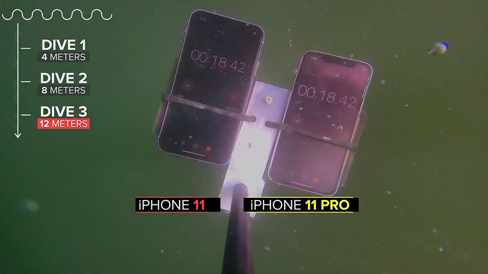 iPhone 11экстремально протестировали в воде. Результаты удивили