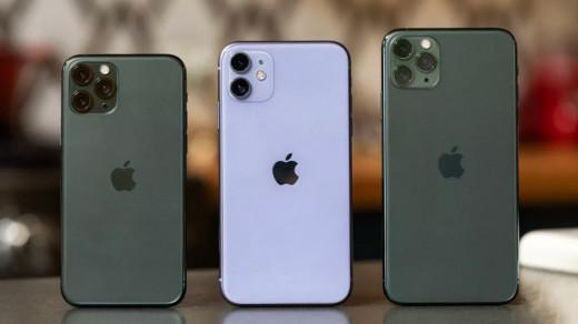 Серия iPhone 11