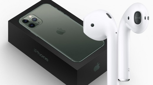 Apple хочет комплектовать iPhone 12наушниками AirPods