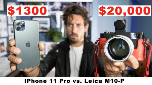 Фото наiPhone 11Pro ифотоаппарат Leica за1,2 млн рублей оказалось сложно отличить